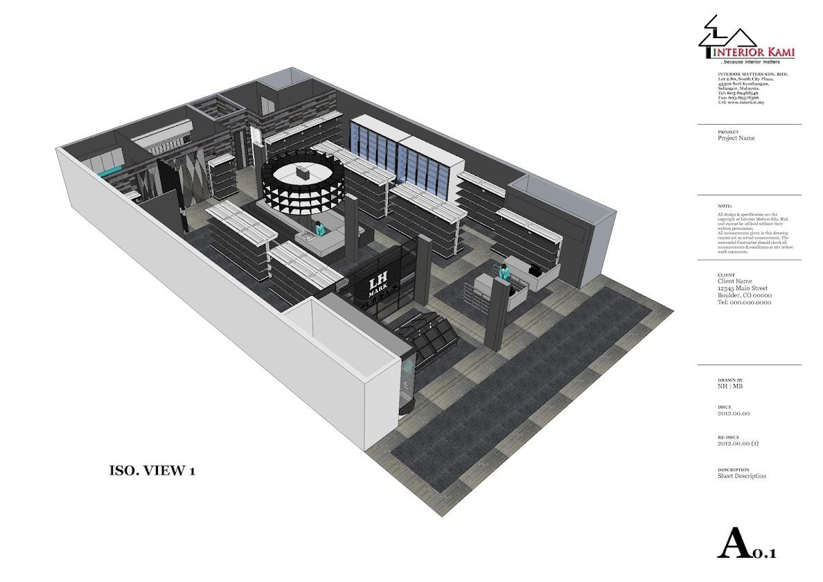 mini market iso view
