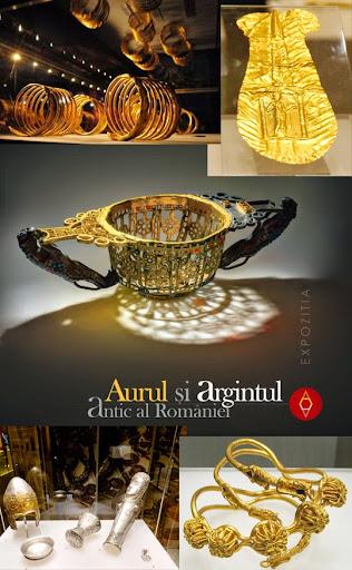 Expoziţia Aurul şi argintul antic al României #1