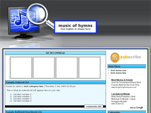 Music Of Hymns