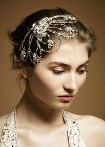 Peinados: Novias con diademas