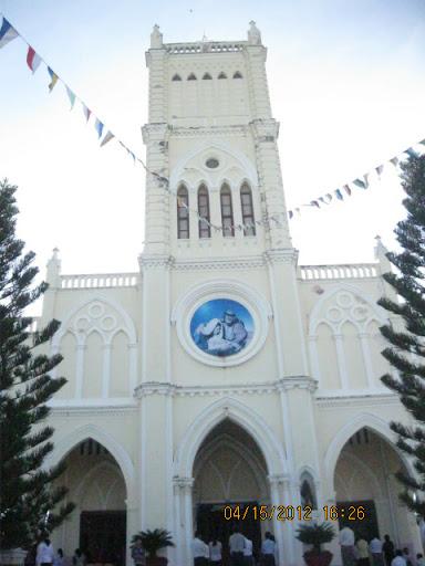 Lễ Kính Lòng Chúa Thương Xót tại Nhà Thờ Giáo Xứ Tấn Tài, Giáo Hạt Phan Rang
