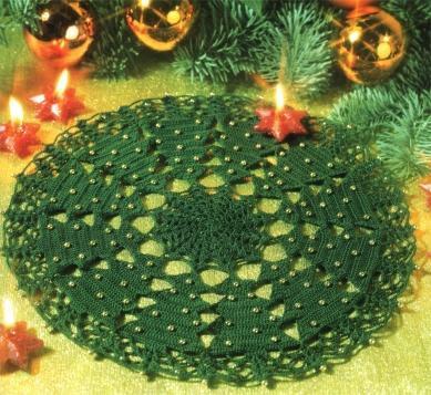 tapetes navideños Arvore
