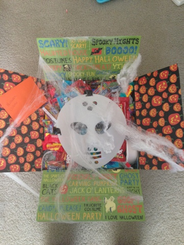 Halloween Care Package - Three Little Ferns - Family Lifestyle Blog