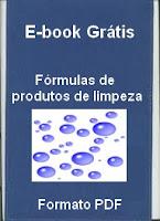 E-book grátis – Fórmulas de produtos de limpeza