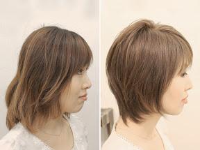 ■ ペタンコ髪をふんわり