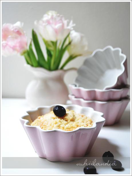 ceramiczne foremki pastelowe różowe