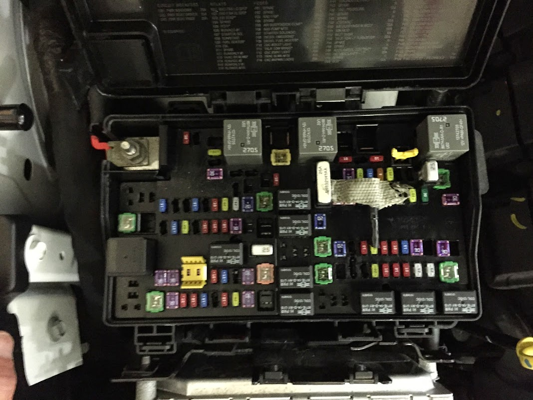 could someone take a picture of the fuse panel? - cherokee ... fuse box jeep grand cherokee 2005 fuse box jeep grand cherokee 2014