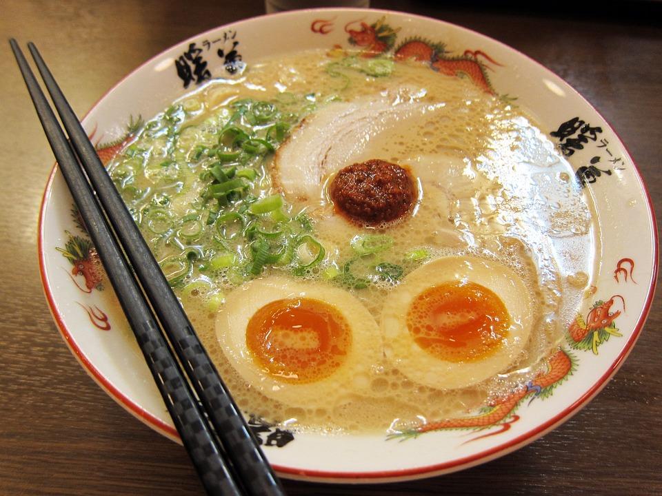 Free photo Japanese Food Noodle Soup Ramen Noodles Ramen - Max Pixel