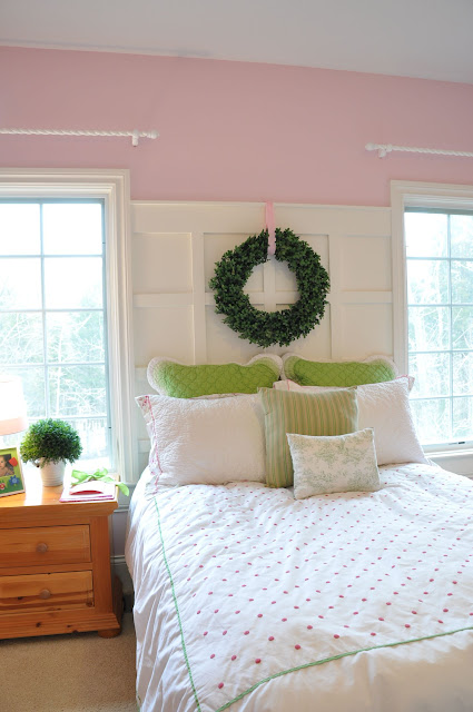 Paneled Headboard Wall
