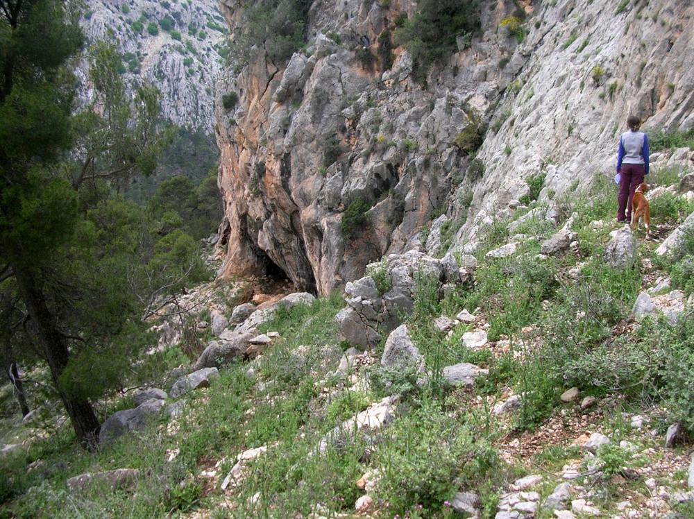 Hacia las cuevas