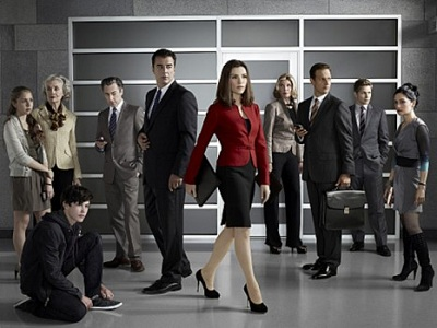 The Good Wife Banner Cast The Good Wife 4ª Temporada Legendado RMVB + AVI