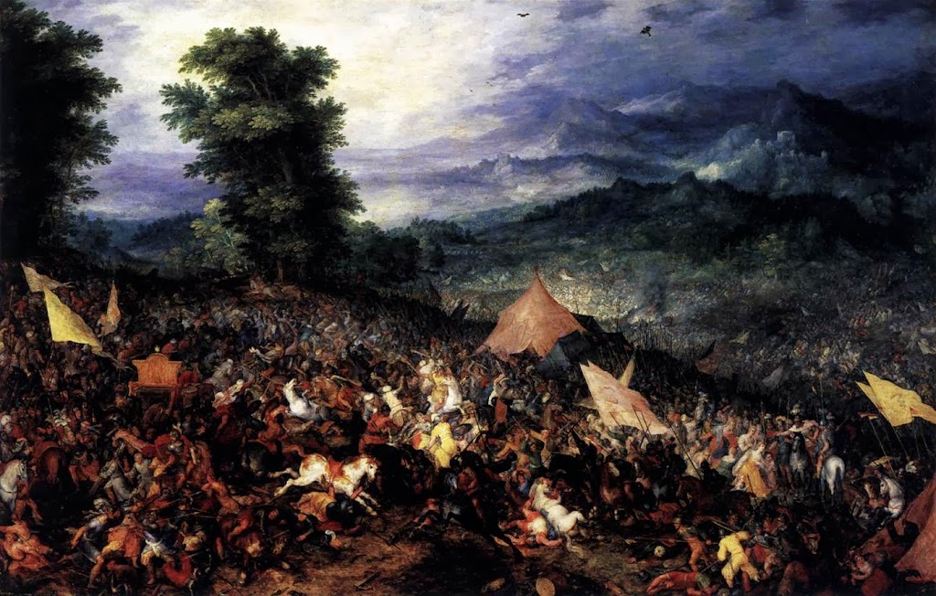 Jan Brueghel the Elder - The Battle of Issus
