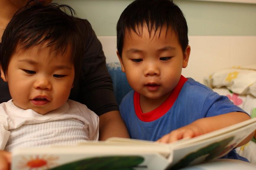 睡前親子共讀