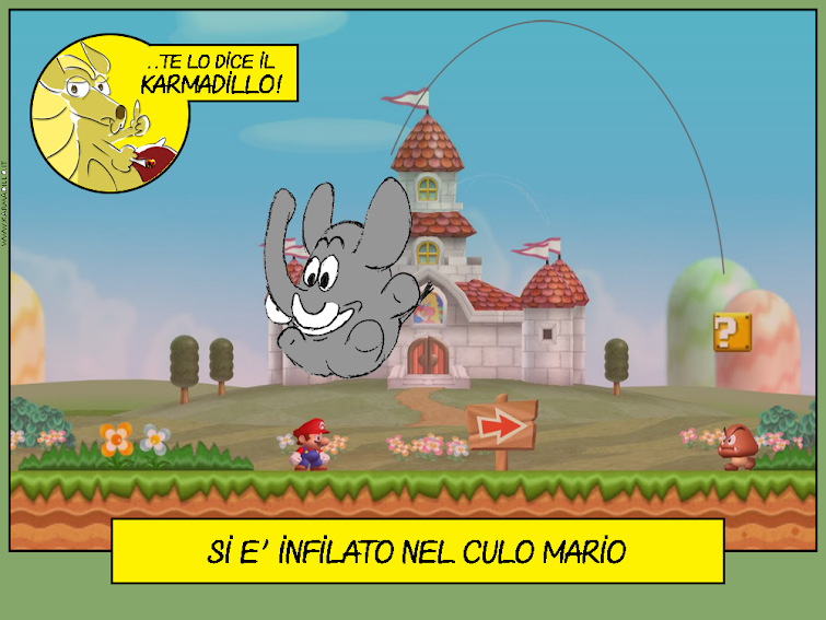 Osvaldo Salta in testa a Mario, con l'intenzione di infilarselo nel culo
