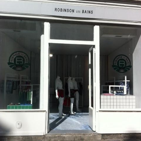 Popup store Robinson les bains - maillots de bain homme