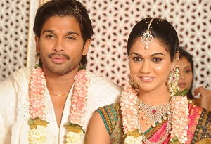 allu arjun marriage live on maa movies