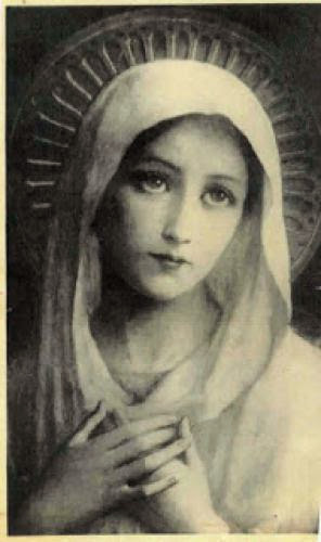 True Devotion To Mary Who Is Fair And Gentle As The Moon