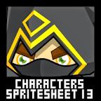 RPG Character Spritesheet