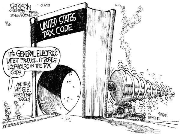 sociological political cartoon