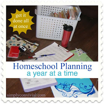 Plan Whole Homeschool Year At Once