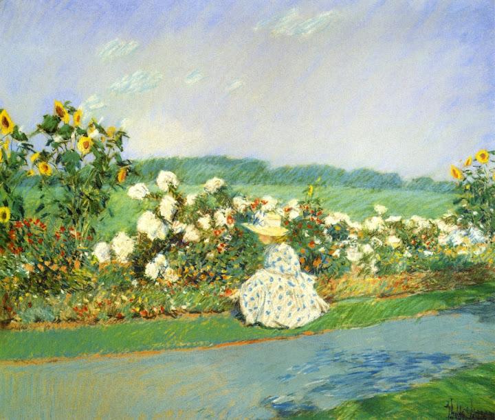 Childe Hassam - Summertime