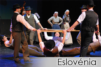 ESLOVÉNIA - Tine Rožanc Folk Dance Group