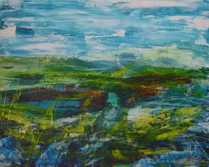 Abstract Landscapes - Zarina Keyani