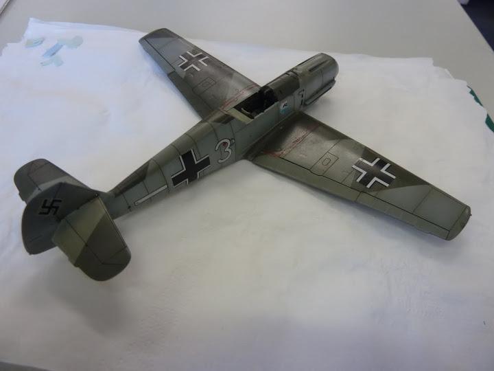 Bf-109 E-3 Tamiya 1/48 - Reforma pintura P1020518