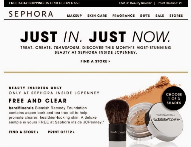 Free Bareminerals Blemish Remedy Foundation At Sephora The Color