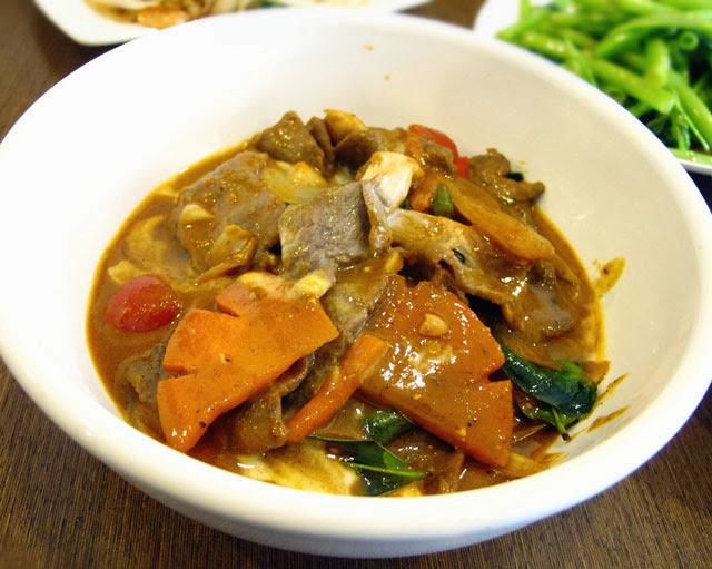瑪沙滿牛 NT 180元-泰僑村台中泰式料理
