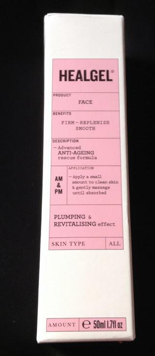 Photo of heal gel face serum