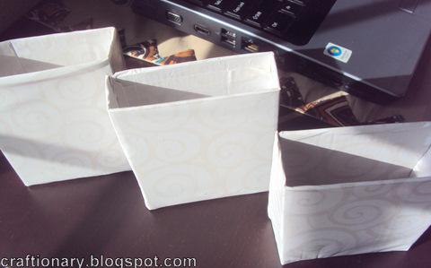 DIY cardboard holders