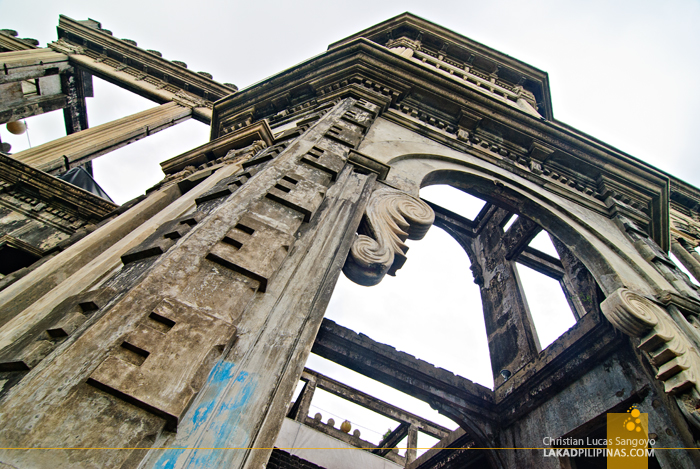 Concrete Skeleton at Talisay City's The Ruins