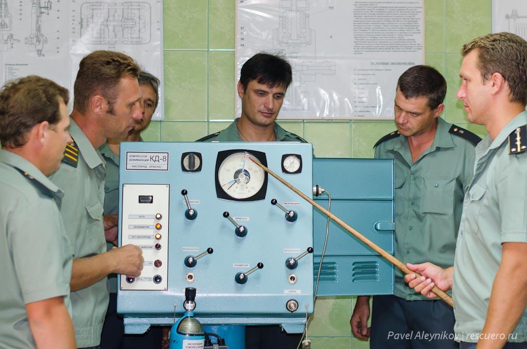 Изучение компрессора КД-8