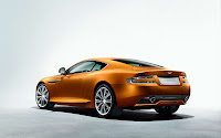 The New Aston Martin Virage 2011 back