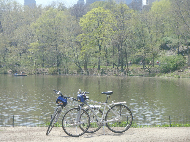 Bikes, Velos, People in Central Park, New York, Manhattan, elisaorigami, travel, blogger, voyages, lifestyle