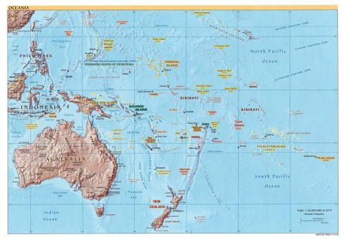 historia de oceania: