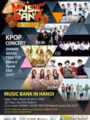 Phim Kbs Music Bank Tại Hà Nội - Music Bank In Hanoi