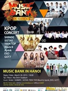 Kbs Music Bank Tại Hà Nội - Music Bank In Hanoi - 2015