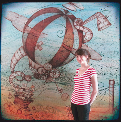 Mural il·lustradora Montse Bugatell
