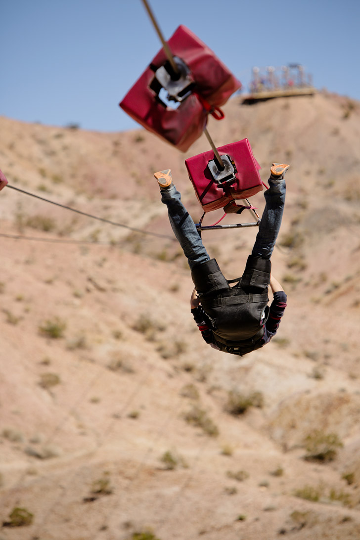 Vegas Zip Line with Flightlinez.