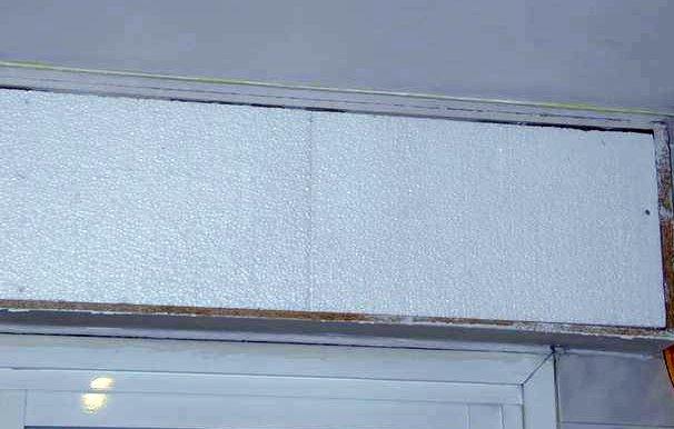 Las ventanas de casa persiana - Cajon de persiana interior ...