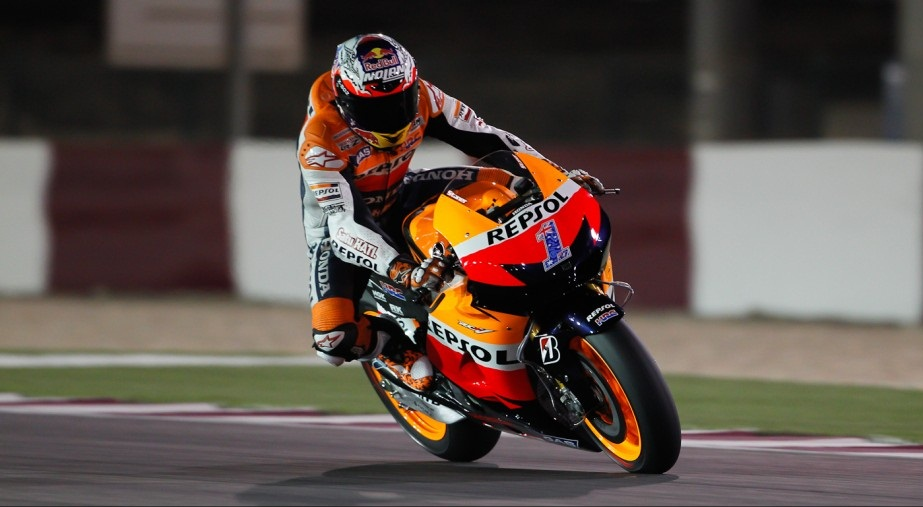 Casey Stoner Losail 2012