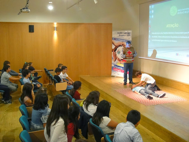 Projeto +SER promove ação de Socorrismo Juvenil
