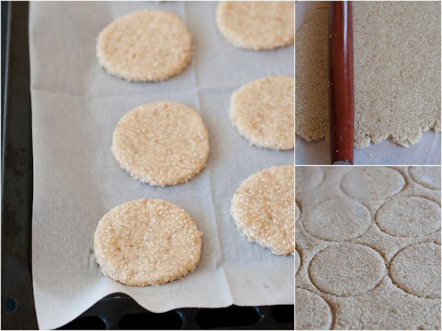 sesame seed cookies moroccan
