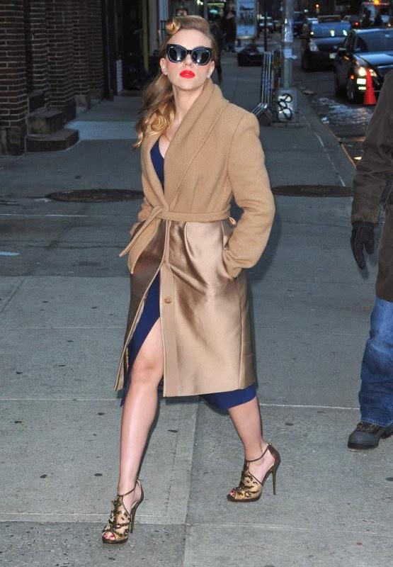 Scarlet Johansson zna kako izgledati vintage i glamurozno