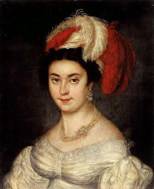Vasily Tropinin - Portrait der Madame Botsigetti