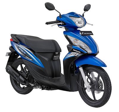 Honda Spacy Helm In PGM FI  Sepeda Motor Injeksi Irit