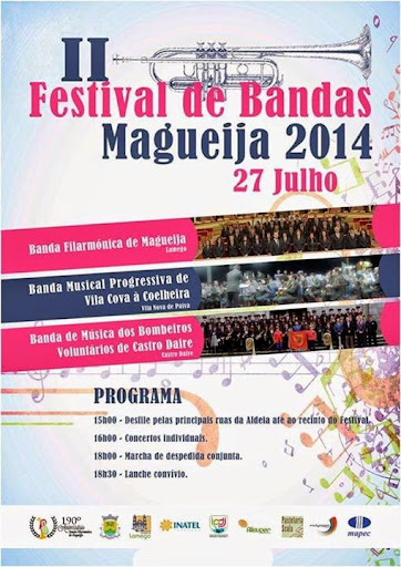 II Festival de Bandas - 27 de Julho - MAGUEIJA 2014