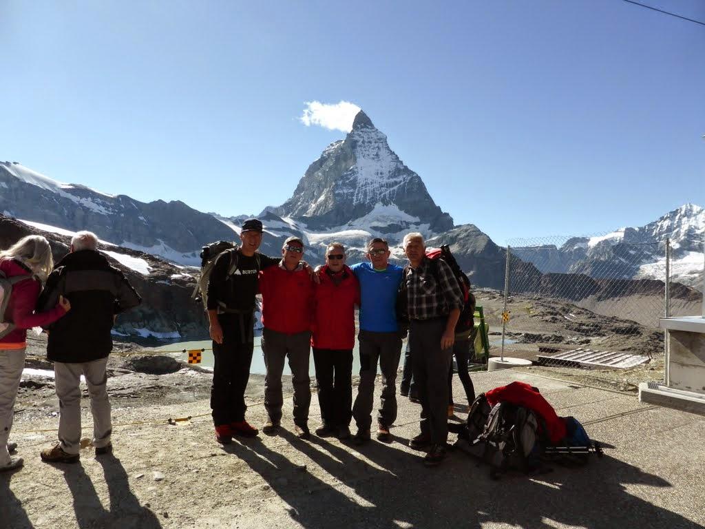 Petorica naših članova u Alpama